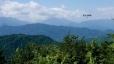 高尾山頂1(富士山方向)
