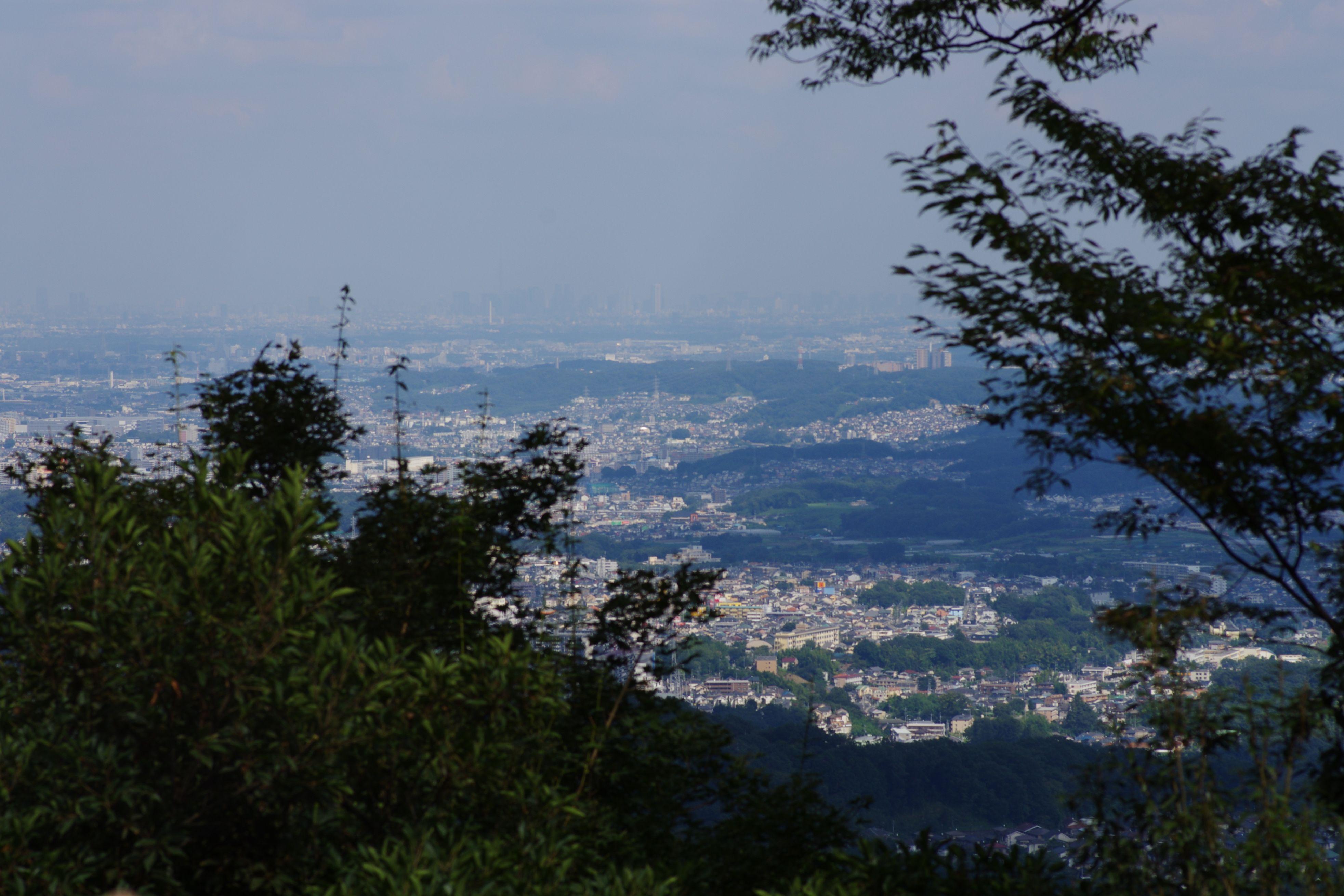 山上駅横展望台