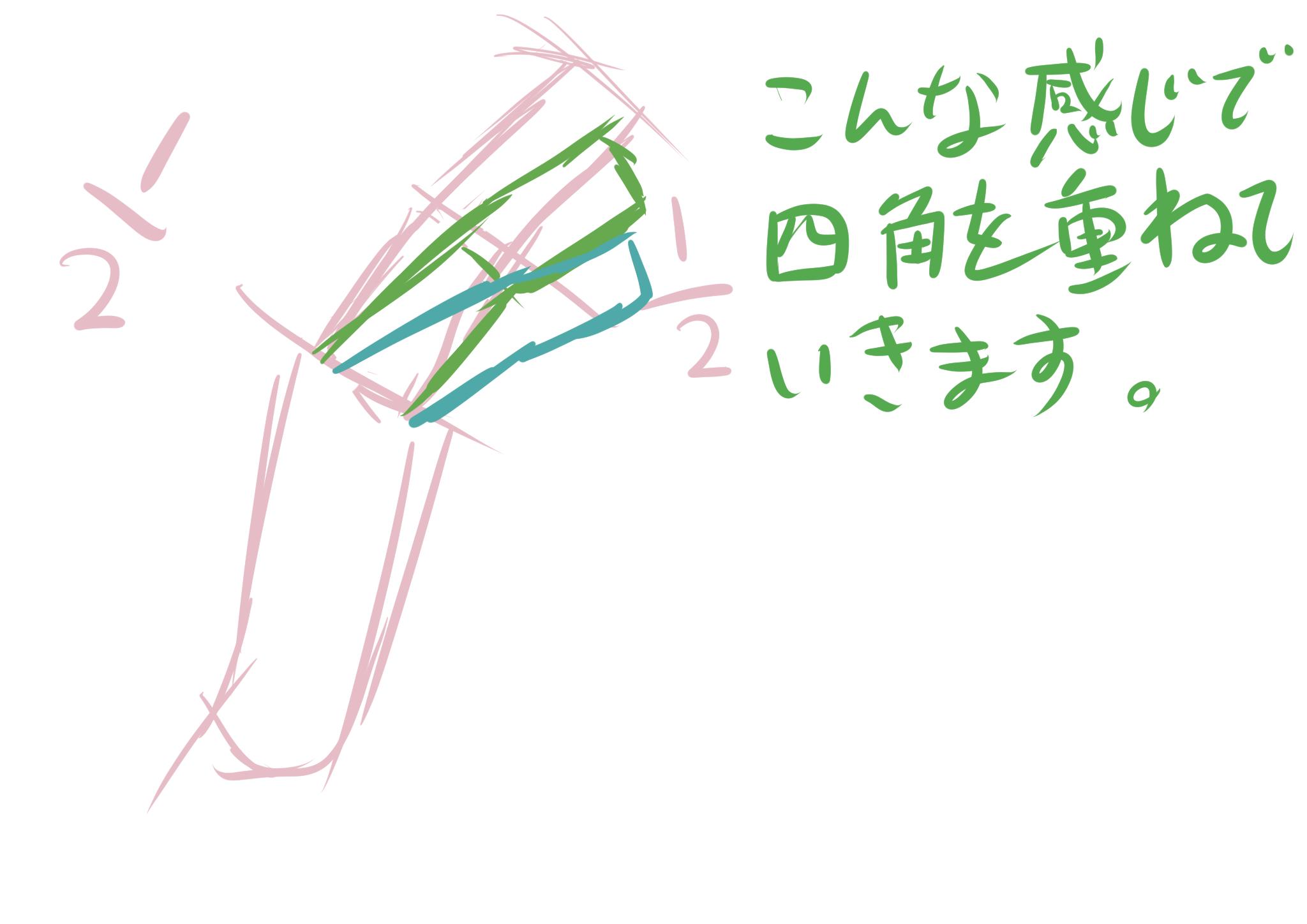 手の書き方を考える4