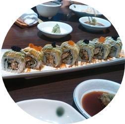 お寿司ですよ