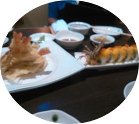 てんぷらと寿司