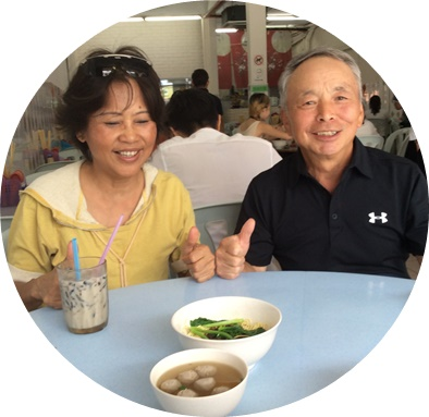 昼食・マリアさん・増子さん