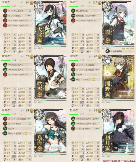E-3第2艦隊