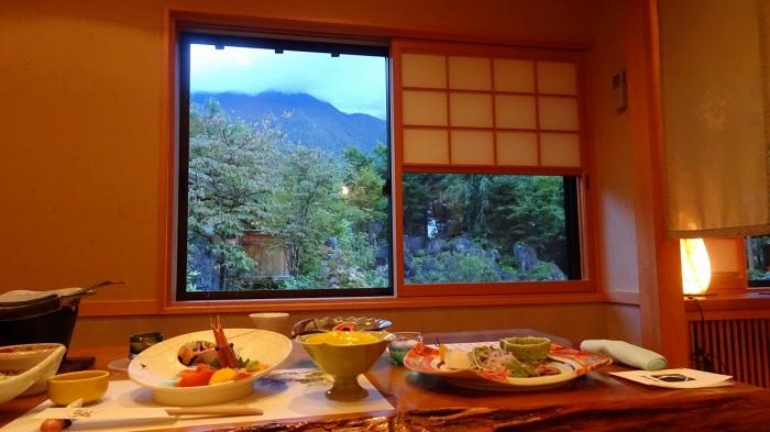 谷旅館食事 (1)