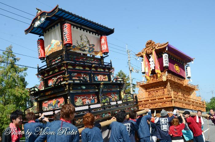 辻堂だんじり(屋台) 丹原祭り