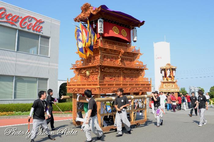 新宮藤木だんじり(屋台) 小松祭り