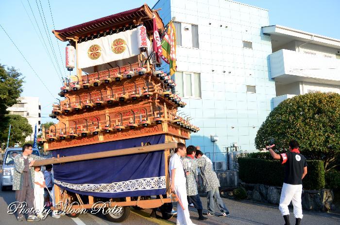 町内廻り 吉原三本松だんじり(屋台)