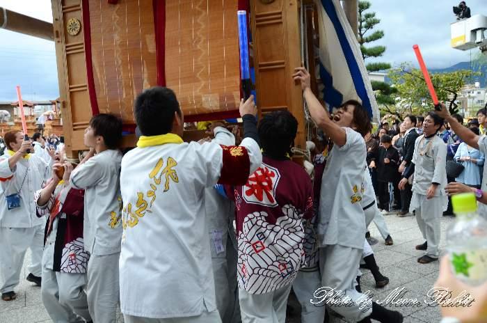 栄町上組屋台(榮町上組だんじり) 祭り装束