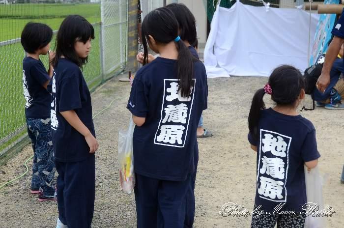 地蔵原屋台(だんじり) 祭り装束