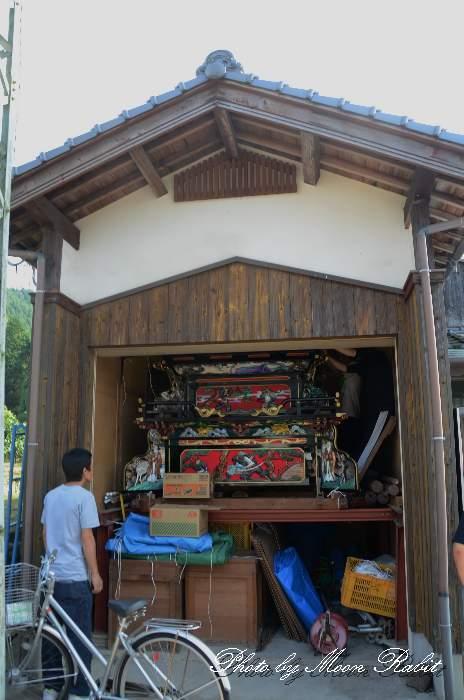 奥の内集会所 組み立て 西条祭り 愛媛県西条市