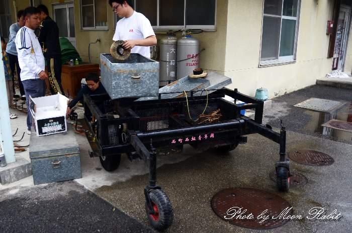 台車 西町西組だんじり(屋台) 小松祭り 愛媛県西条市