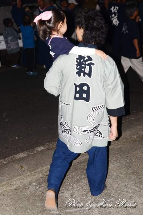 福武新田だんじり(屋台) 祭り装束 西条祭り