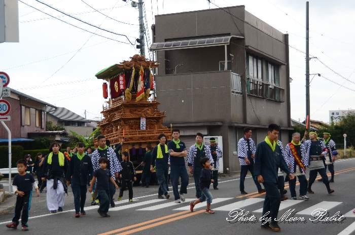 橘新宮神社祭り 安知生だんじり(安知生屋台)