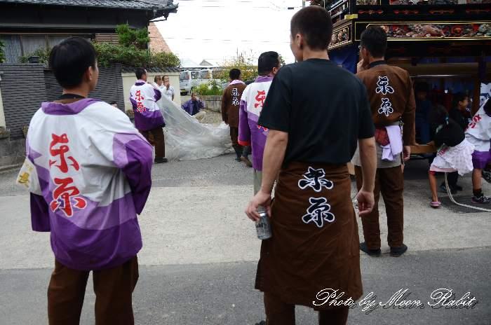東原屋台(東原だんじり) 祭り装束