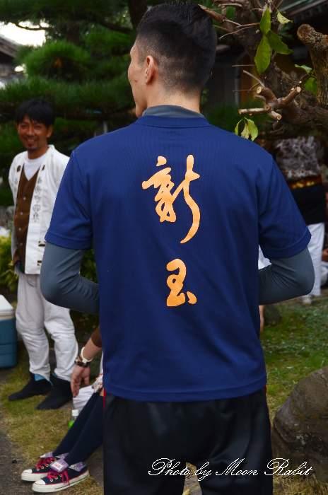 新玉通屋台(だんじり) 祭り装束