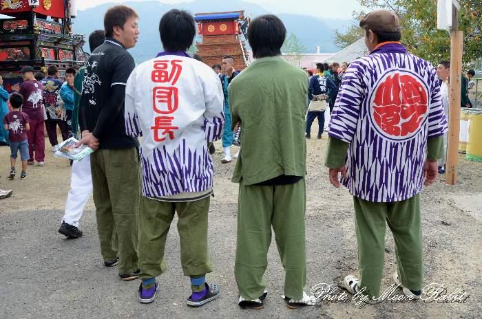 西の川原だんじり(西之川原屋台) 祭り装束