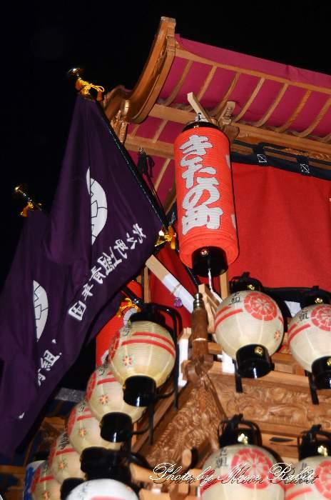 北之町上組屋台(だんじり) 祭り提灯