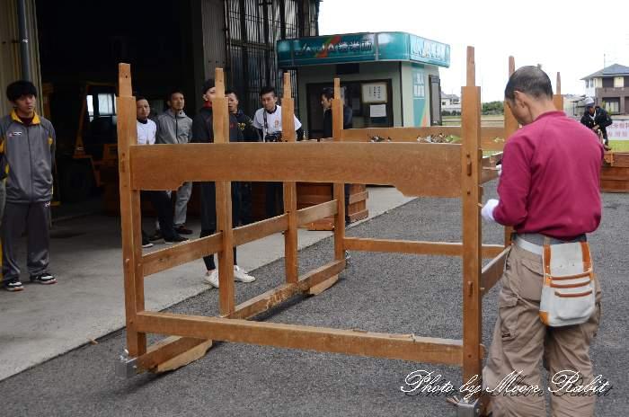 台輪 横黒屋台(だんじり) 西条祭り 伊曽乃神社祭礼