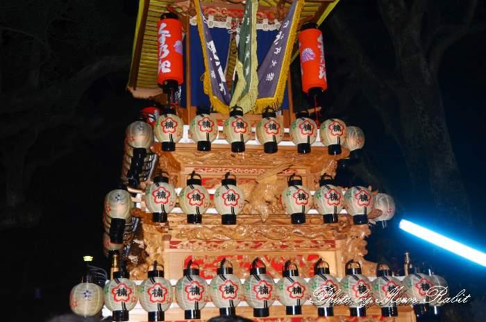 祭り提灯 楠屋台(楠だんじり)