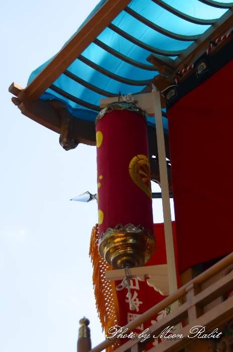 昼提灯 市塚屋台(だんじり) 西条祭り