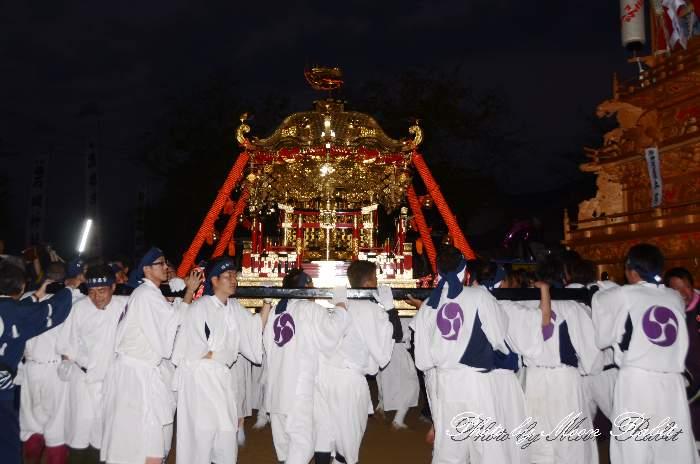 宮入り 石岡神社みこし