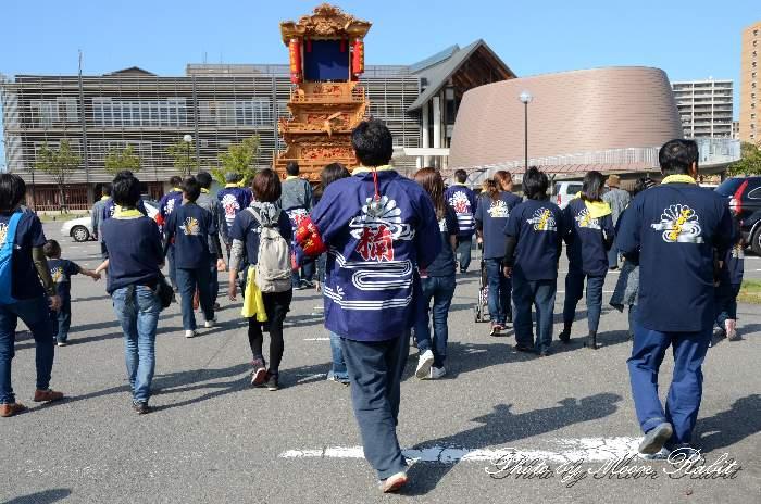 楠屋台(だんじり) 祭り装束 西条祭り