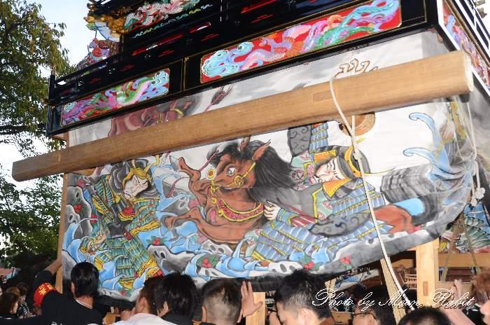 土台幕 下小川だんじり(屋台) 西条祭り