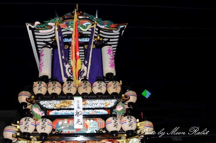 祭り提灯 船元町屋台(船元町だんじり)