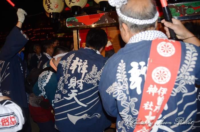 辯財天だんじり(弁財天屋台) 祭り装束