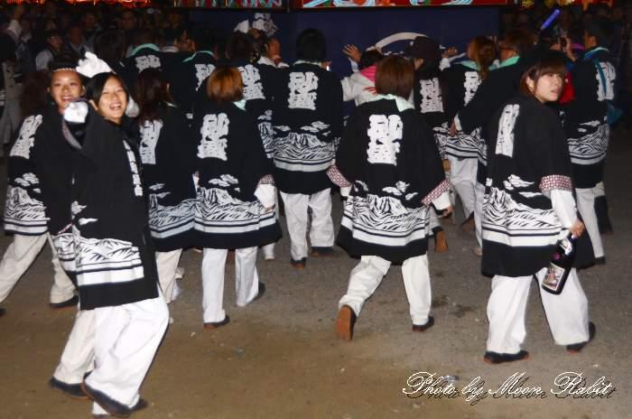 砂盛町屋台(だんじり) 祭り装束 西条祭り 伊曽乃神社祭礼