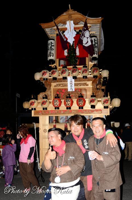 東予秋まつり前夜祭 北條南屋台(だんじり)