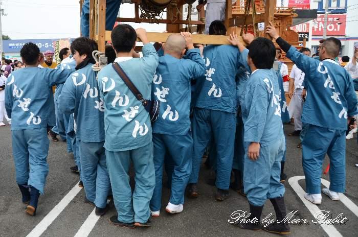 親善会だんじり(親善会屋台) 祭り装束 東予祭り