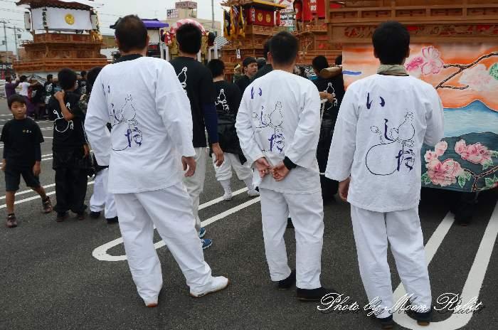 石田だんじり(屋台) 祭り装束 東予祭り