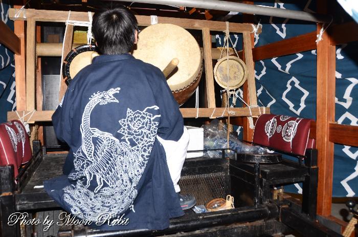 楢の木だんじり(屋台) 法被 祭り装束