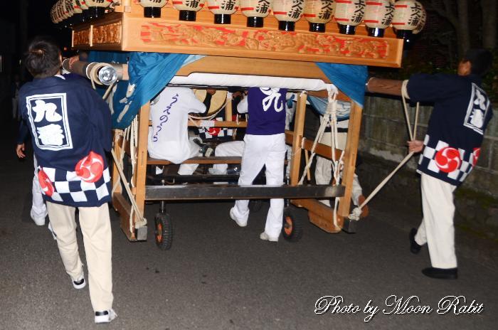 上の浦だんじり(上之浦屋台) 祭り装束