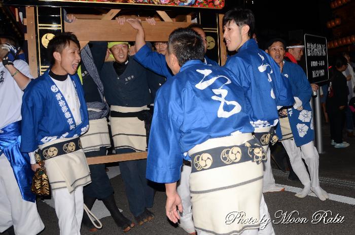 宮之下だんじり(宮の下屋台) 祭り装束 石岡神社祭礼