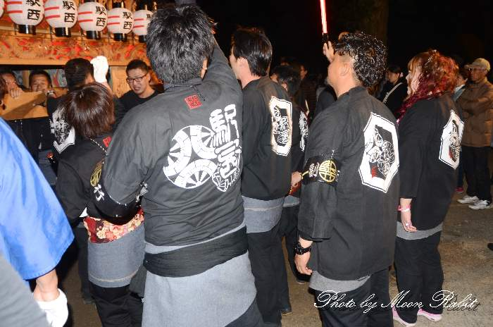 駅西屋台(だんじり) 祭り装束 西条祭り
