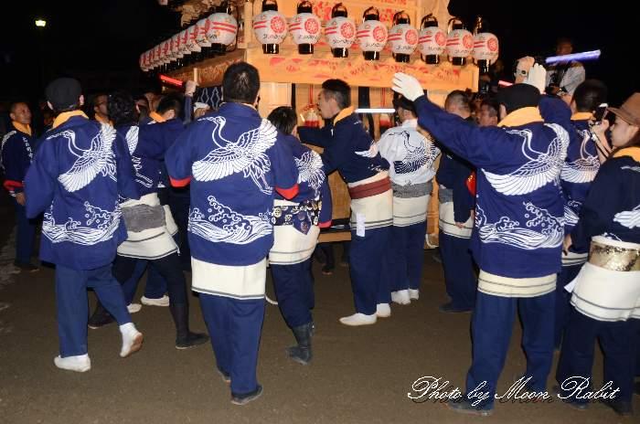 北之町中組だんじり(屋台) 祭り装束