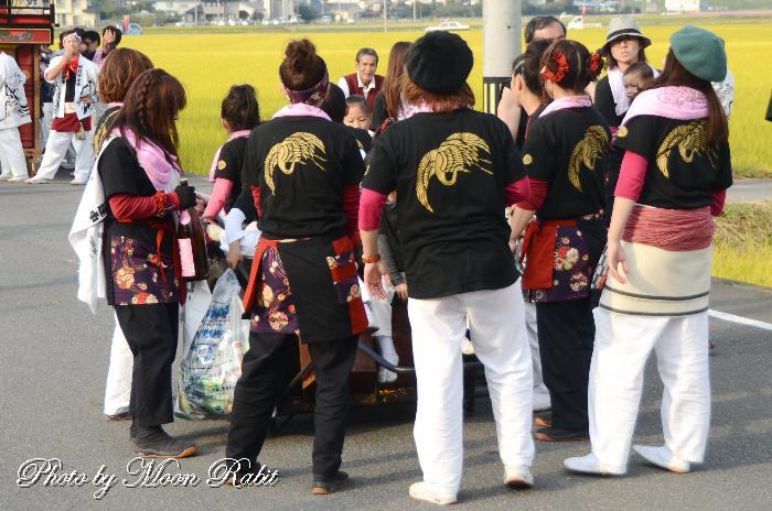 新町だんじり(屋台) 祭り装束 石岡神社祭礼