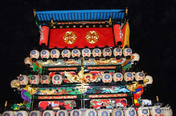 祭り提灯 天皇屋台(天皇だんじり)