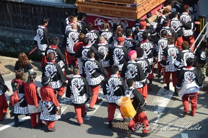 古川だんじり(屋台) 法被 祭り装束