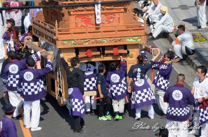 新町だんじり(屋台) 法被 祭り装束 西条祭り2013 伊曽乃神社