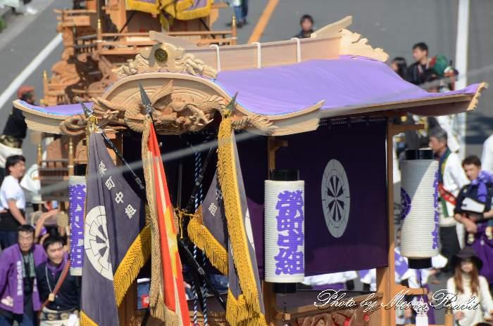 だんじり天幕・破風 栄町中組屋台(榮町中組だんじり) 西条祭り