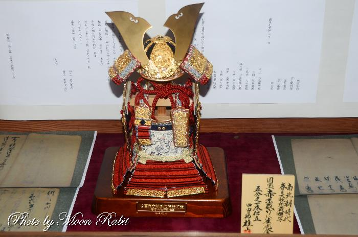 国宝 赤糸威 竹雀虎金物鎧(模写) 幕末展