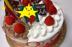 ケーキ 8歳