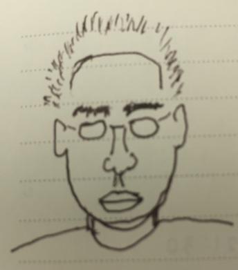ウルフ画伯の自画像