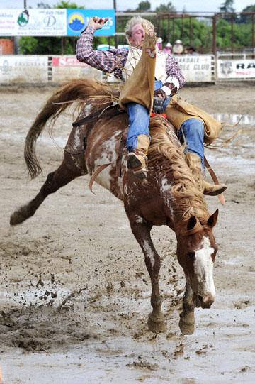 blog 24 D3S Oakdale Rodeo, Bareback Bronco 5, Tyler Nelson (81.5 Victor, ID) 2_DSC5288-4.10.16.(2).jpg