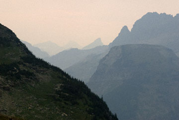 blog TAKE 91 Glacier NP, Logan Pass-Hidden Lake Nature Trail, looking to the East, MT_26648-8.2.07.jpg