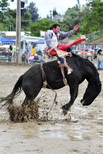 blog 24 D3S Oakdale Rodeo, Bareback Bronco 12, George R. Gillespie (73 Hamilton, MT) 2_DSC5432-4.10.16.(2).jpg