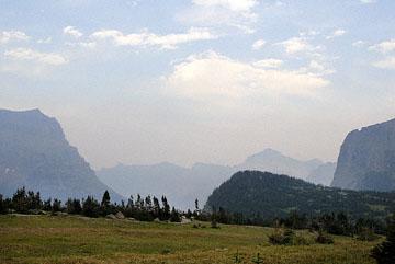 blog TAKE 92 Glacier NP, Logan Pass, (Hidden Lake Nature Trail, sky_26776-8.2.07.jpg